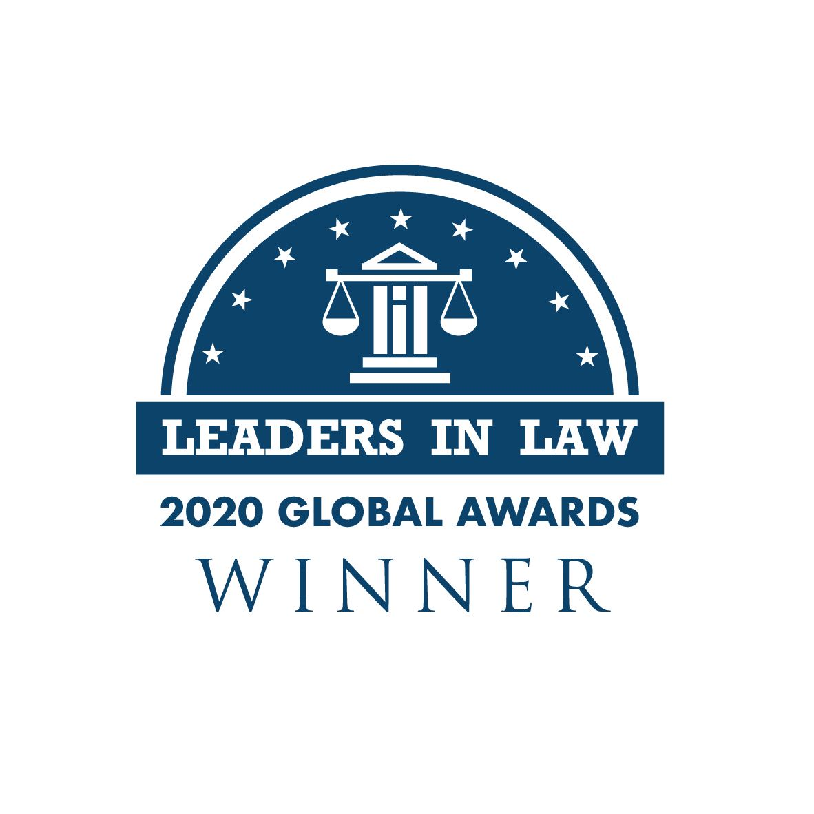 Leaders in Law - Global Awards Winner 2020
