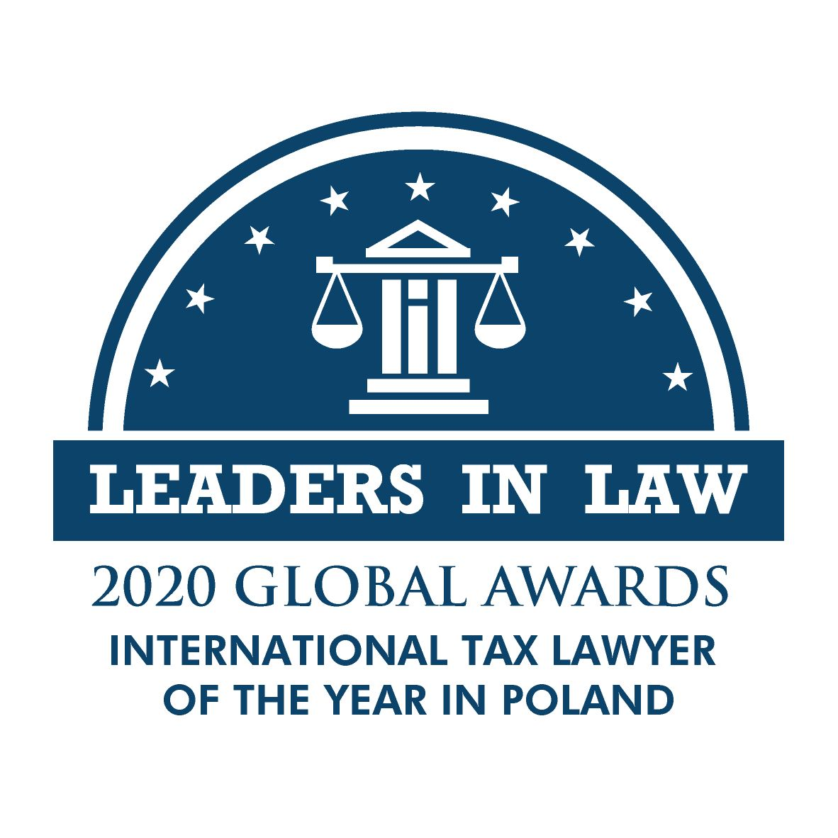 Leaders in Law 2020 - TAX LAWYER OF THE YEAR POLAND